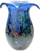 Ваза из цветного стекла 30см Top Art Studio ZB2179-TA