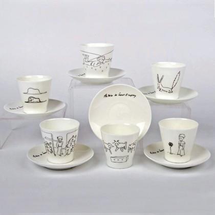 Сервиз кофейный ИФЗ Чёрный кофе, Маленький принц, 12 предметов 81.21219.00.1