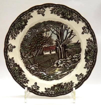 Тарелка суповая 22см Деревенька Johnson Brothers A4038101014
