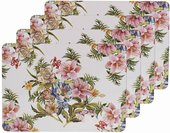 Подставки под тарелки на стол Lesser & Pavey Розовая лилия 4шт 29x22см LP93791