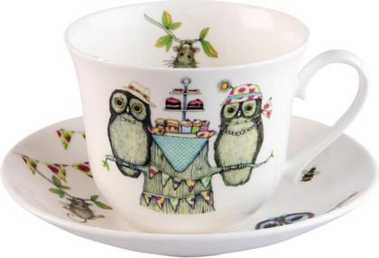 Чайная пара для завтрака Жизнь прекрасна 500мл Roy Kirkham XLIF1100