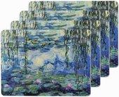 Подставки на пробке Водяная Лилия 4шт 29х22см The Leonardo Collection LP92818