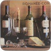 Подставки под чашку Creative Tops Vintage Wine 10.5x10.5, 6шт, пробка 5169656