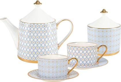 Сервиз чайный ИФЗ Идиллия, Азур, 10 предметов, 4 персоны 81.27757.00.1