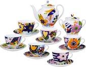 Сервиз чайный 6/14 Летний букет, ф. Весенняя-2 ИФЗ 81.25987.00.1