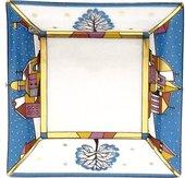 Подставка для мелочи ИФЗ Зимние грёзы, 100х100мм, фарфор 80.65025.00.1