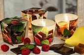 Свеча декоративная Bartek Candles Шоко, стакан 5901685035194