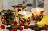 Свеча Шоко, стакан Bartek Candles 5901685035194