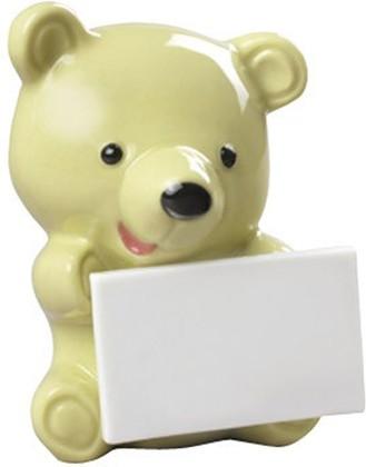 Статуэтка Медвежонок с сообщением (Little bear with message), фисташковый, фарфор NAO 02001897