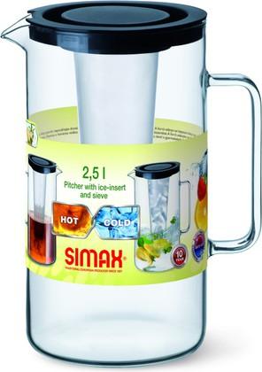Кувшин Simax Classic с фильтром, 2.5л 2544/L/S