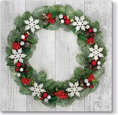 Салфетки для декупажа Paw Добро пожаловать Рождество, 33x33см, 20шт. SDL011500