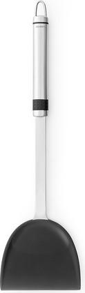 Лопатка кухонная Brabantia Profile для вока, матовая сталь, чёрный 385568