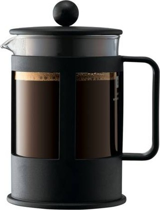 Кофейник с прессом чёрный 0.5л Bodum Kenya 1784-01