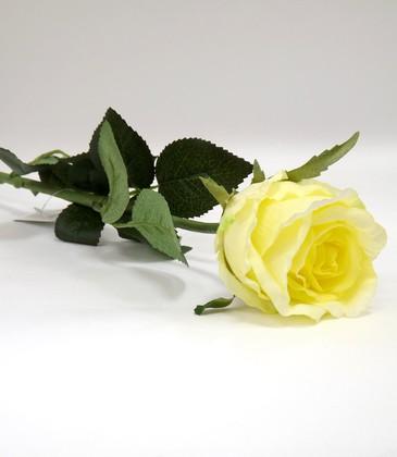 Цветок искусственный Роза Богема кремовая 65см Top Art Studio WAF0934-TA
