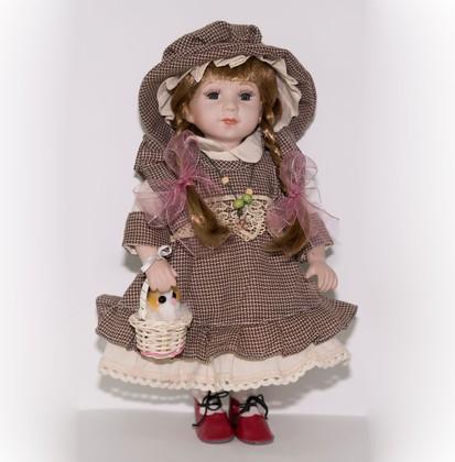Кукла фарфоровая Адель 30.5см Top Art Studio WS2245-TA