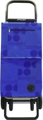 Сумка-тележка хозяйственная синяя Rolser QUATTRE.2 SBE002azul