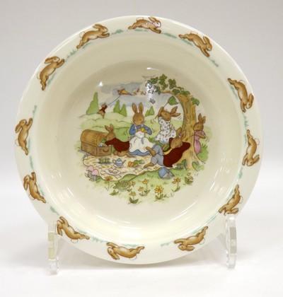 Тарелка глубокая для малыша 16см Кролики Royal Doulton ITRABU07384