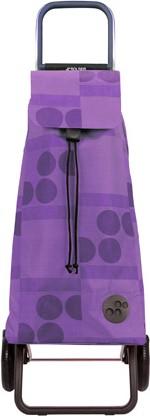 Сумка-тележка Rolser Logos, 2 колеса, фиолетовая MOU039malva
