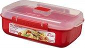 Контейнер для продуктов прямоугольный 1.25л Sistema Microwave 1114