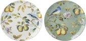 Тарелка 19см, набор 2шт Весенние фрукты Creative Tops 5200003