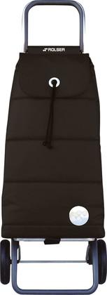 Сумка-тележка хозяйственная чёрная Rolser LOGIC RG PAC023negro