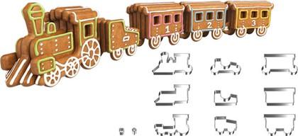 """Набор формочек """"Пряничный поезд"""" Tescoma DELICIA Kids 631442"""