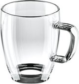 Стеклянная кружка 400мл Tescoma CREMA GLASS 306270.00