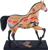 Статуэтка Enesco Лошадь Шоссе 66, 18.5см, полистоун 4030254