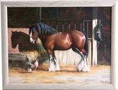 Поднос с подушкой Лошадь и её друг Creative Tops LT3660