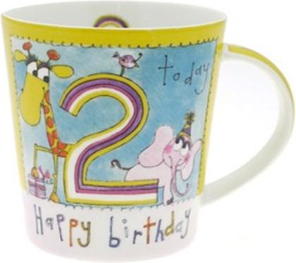 Кружка С Днём Рождения 2 года Rachel Ellen The Leonardo Collection LP32839