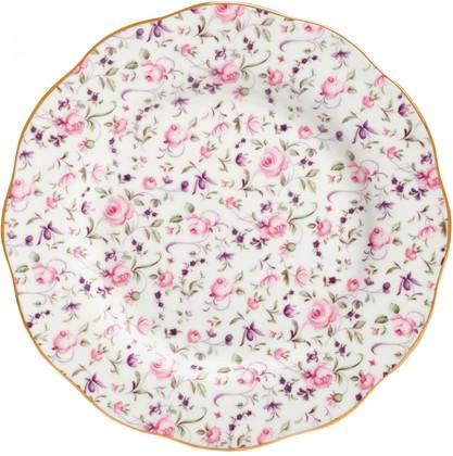 Тарелка Royal Albert Роза Конфетти, 20см ROSCON25811
