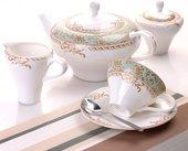 Чайный сервиз 6/15 Фонтенбло Top Art Studio LD1354-TA