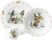 Набор детской посуды Roy Kirkham Кролики, 3 предмета XBUN1393