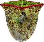 Ваза из цветного стекла 33см Top Art Studio ZB2177-TA