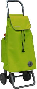 Сумка-тележка хозяйственная желто-зеленая Rolser PACK TERMO MF LÓGIC DOS+2 PAC018lima