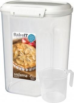 Контейнер Sistema Bake IT, 3.25л с чашкой 1250