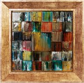Картина стеклянная Мозаика 30x30см Top Art Studio LG1235-TA