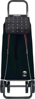 Сумка-тележка хозяйственная чёрная с красным Rolser LOGIC DOS+2 PAC096negro/rojo