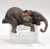 Статуэтка Слонёнок Сладкий сон, 5см Widdop Bingham WS1049-TA