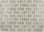 Подставки под тарелки на стол Creative Tops Знатокам еды, 40x29см, 4шт, пробка 5226137