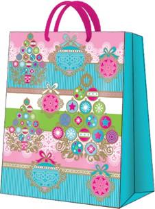 """Пакет подарочный """"Веселое дерево"""" 20x25x10см Paw AGB026603"""