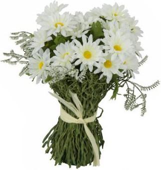 """Цветок искусственный """"Маргаритки c травой"""" 18см Floralsilk 12914ASS"""