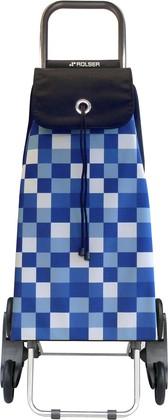 Сумка-тележка хозяйственная синяя Rolser RD6 IMX033azul