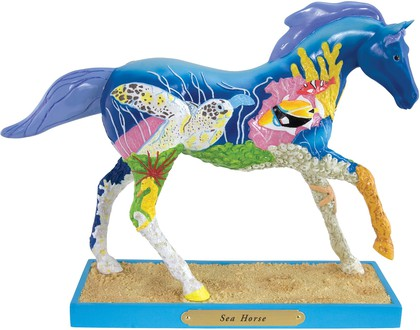 Статуэтка Лошадь Морской конёк (Sea Horse), 16.5см Enesco 4027292