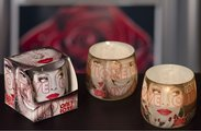 Свеча декоративная Bartek Candles LOVE, стакан 8x7.5см 5901685002615