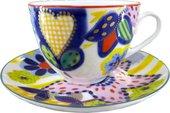 Чашка с блюдцем ИФЗ Весенняя-2, Таня 81.23852.00.1