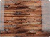 Доска разделочная стеклянная Creative Tops Деревянная текстура, 40x30см 5233684