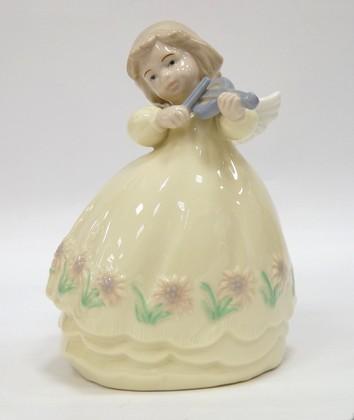 Статуэтка ангела Гармония со скрипкой, 13см The Leonardo Collection LP04368A