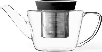 Чайник заварочный с ситечком Viva Scandinavia Infusion, 0.5л, чёрный B81100