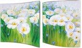 Модульная картина Top Art Нежность 38x38см, пара, дерево, лак WDP1753-TA
